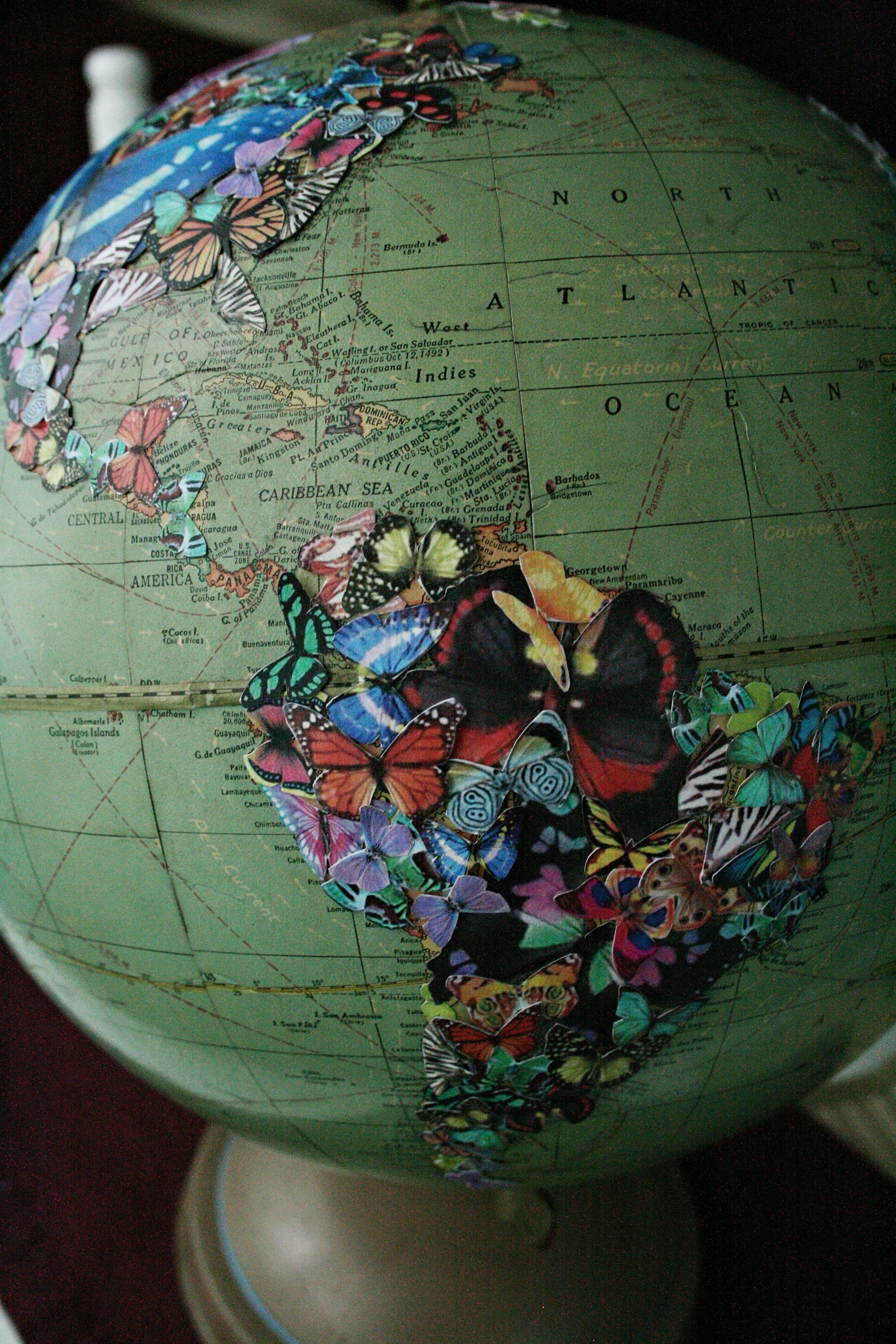 butterfly-globe